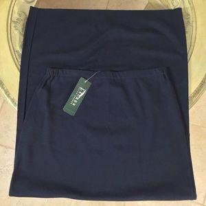 NWT 🧚♀️Lauren Ralph Lauren🧚♀️ Navy Maxi Skirt